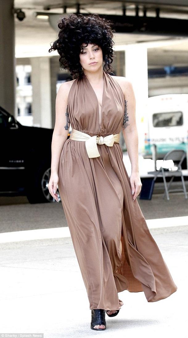 Lady Gaga1 Najhoršie outfity v októbri