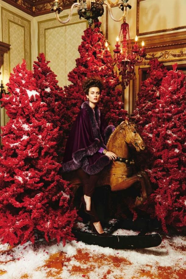 Neiman Marcus 610x913 To najkrajšie z vianočných módnych editorálov
