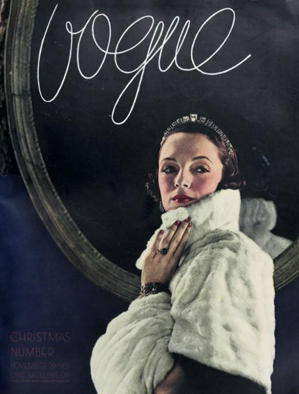 Vogue 1933 610x803 To najkrajšie z vianočných módnych editorálov
