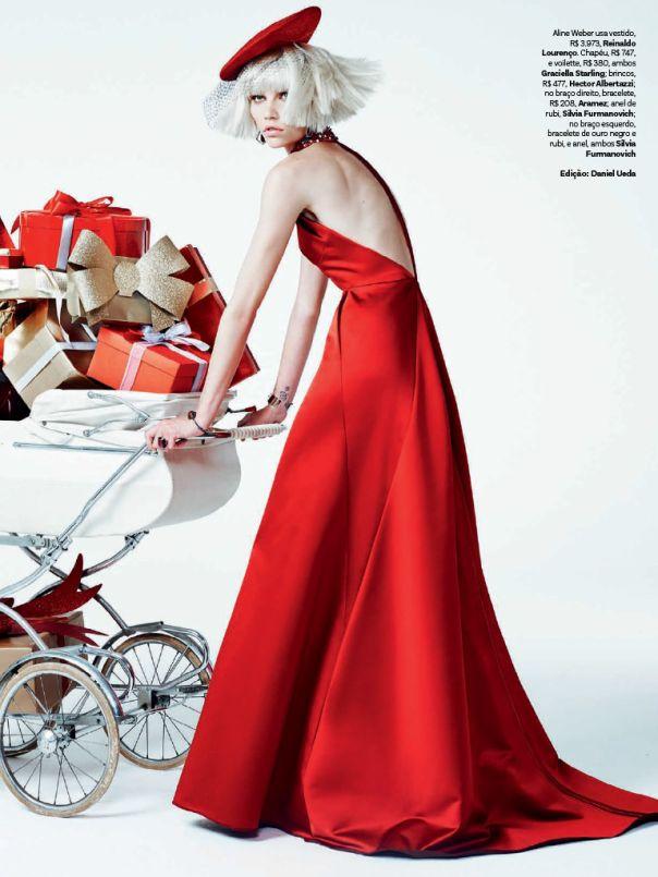 Vogue Brazil December 2013 To najkrajšie z vianočných módnych editorálov