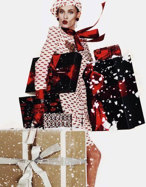 vogue paris december 2012 To najkrajšie z vianočných módnych editorálov