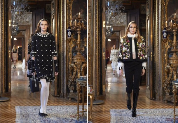 Paris Salzburg 3 3126147a 610x422 Chanel Métiers dArt show 2014/15