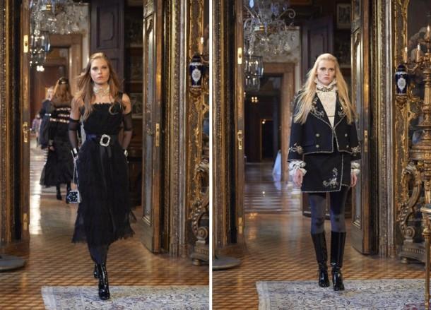 Paris Salzburg 4 3126145a 610x439 Chanel Métiers dArt show 2014/15