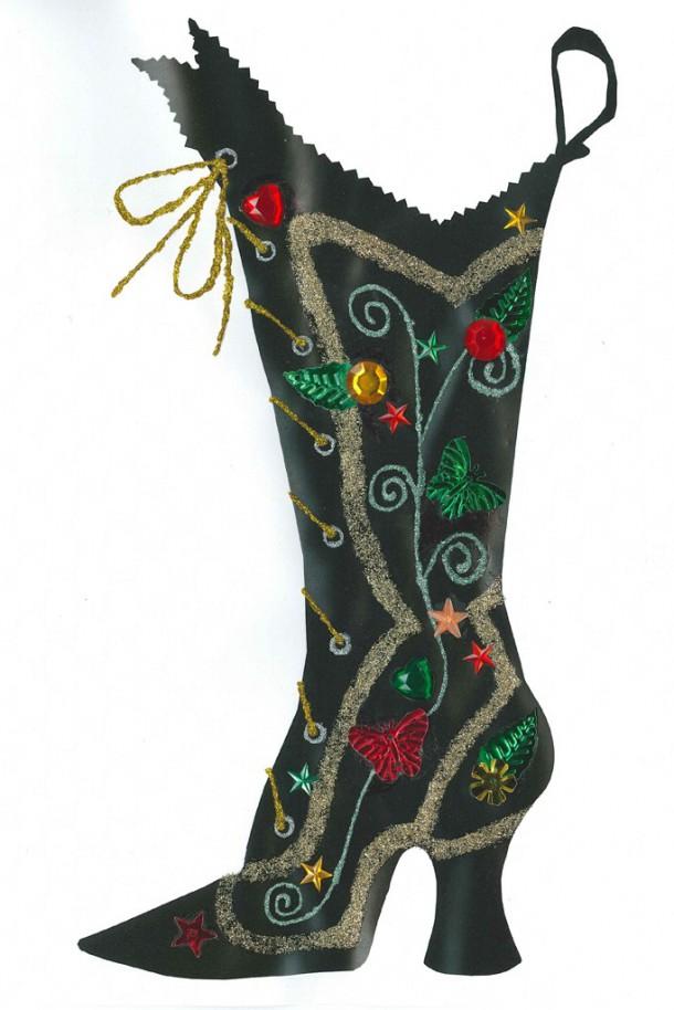 anna sui 610x914 Vianočné pančuchy podľa návrhárov