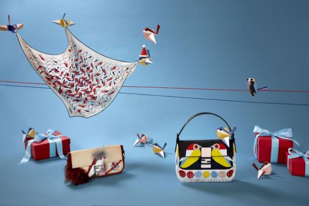 edit 1 14 610x406 Vianočná kolekcia kabeliek Fendi  : QuTweet