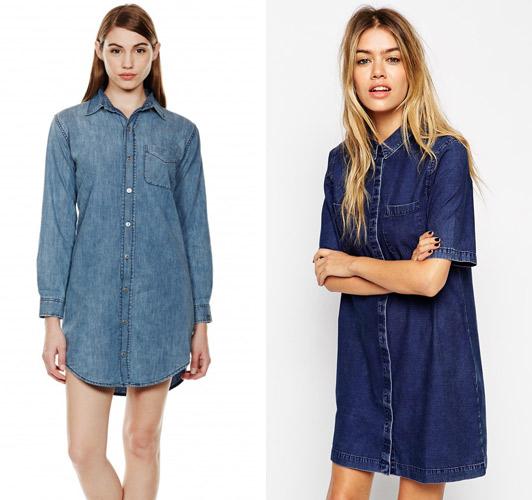 1 3169427a Trend sezóny: Denimové šaty