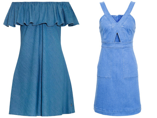 POINTP 3169432a Trend sezóny: Denimové šaty