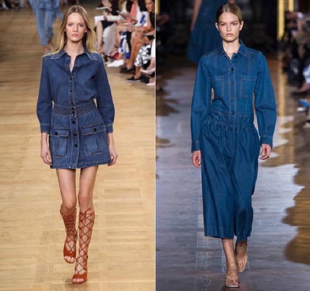 collar 3169352a Trend sezóny: Denimové šaty