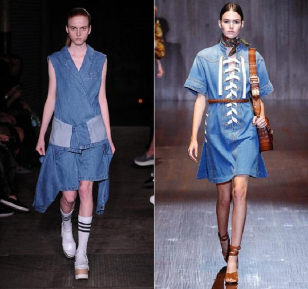 inteest 3169350a Trend sezóny: Denimové šaty