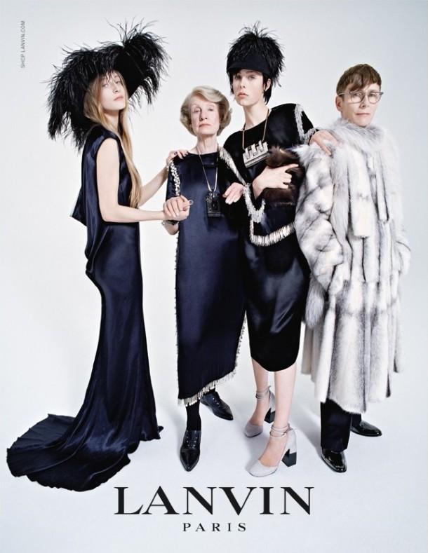 lanvin 2014 fall campaign3 610x789 Staršie dámy sú IN