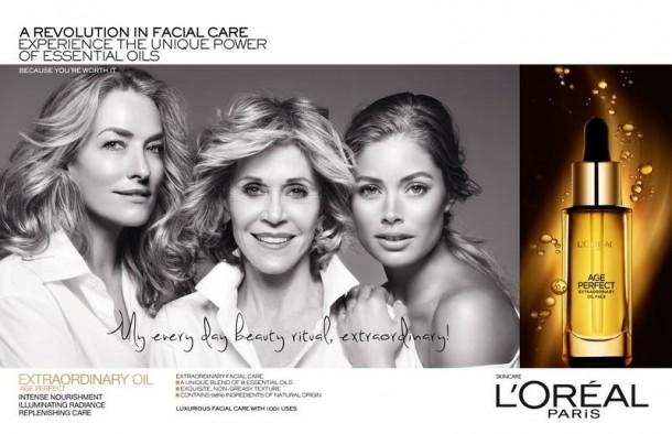 loreal age perfect campaign1 610x394 Staršie dámy sú IN