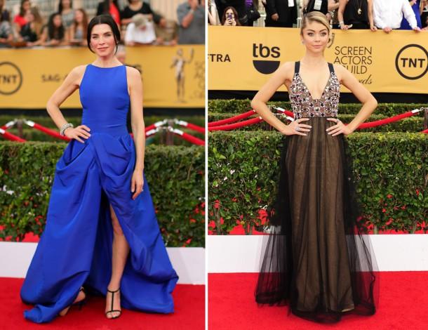 rs 634x1024 150125161640 634.Julianna Margolies Screen Actors Guild Awards.jl .012515 610x470 Červený koberec Screen Actors Guild Awards