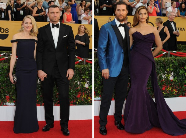 sag46 610x453 Červený koberec Screen Actors Guild Awards