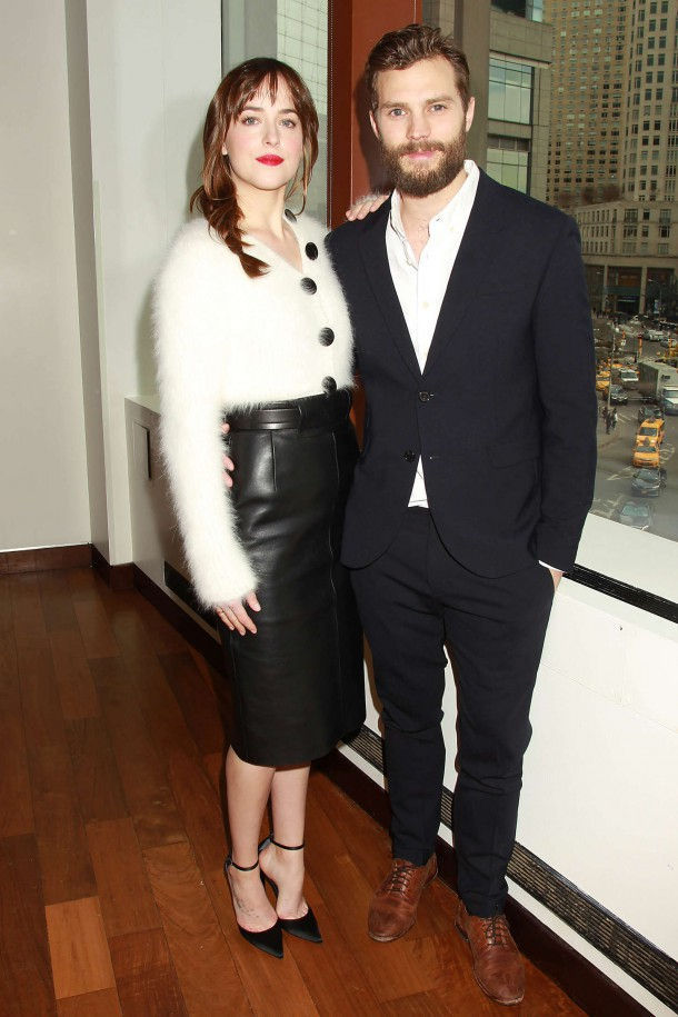 Dakota Johnson Fifty Shades of Grey Fan Screening Brunch 01 610x915 Dakota Johnson a evolúcia jej štýlu