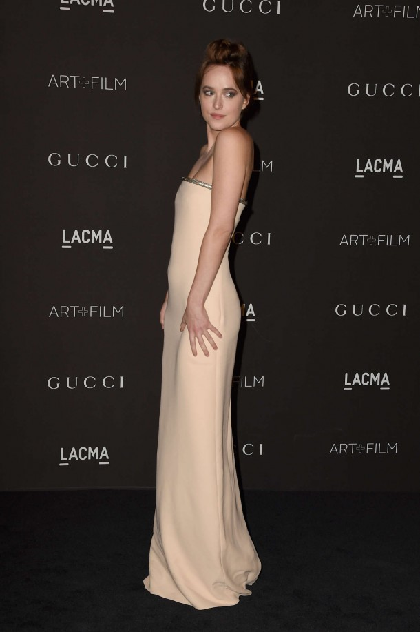 Dakota Johnson LACMA Art and Film Gala 2014 14 610x917 Dakota Johnson a evolúcia jej štýlu