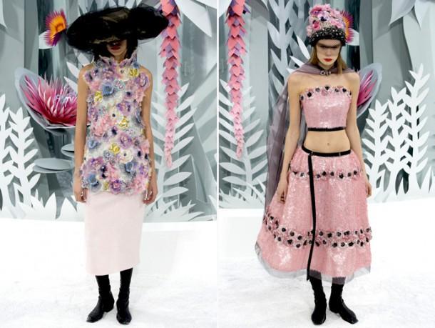 paris fashion week haute couture ss 2015 chanel 690x520 610x459 Chanel Haute Couture jar leto 2015