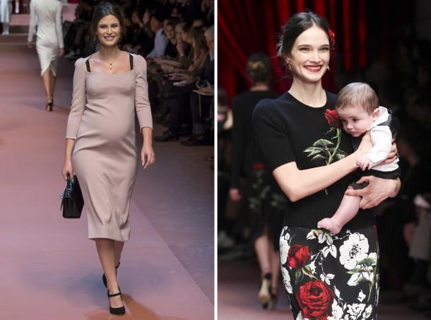 00030h 592x888 610x453 Dolce & Gabbana: Oslava materstva