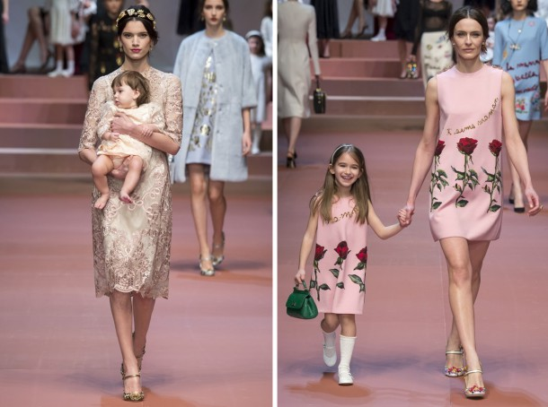 00080h 592x888 610x454 Dolce & Gabbana: Oslava materstva