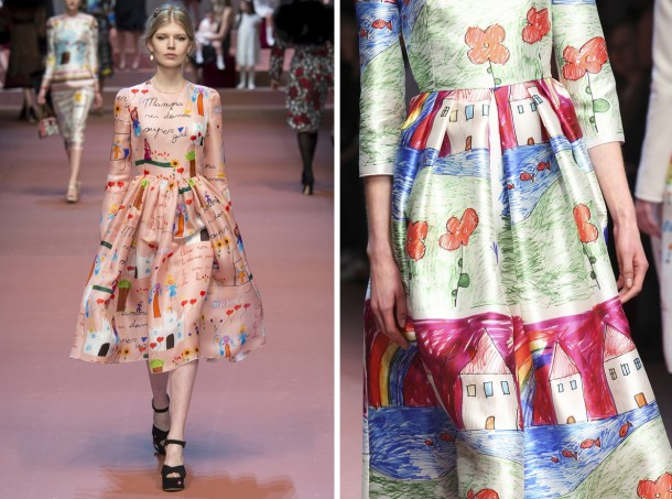 00800h 592x888 610x453 Dolce & Gabbana: Oslava materstva
