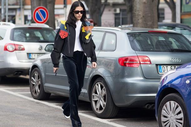 Gilda Ambrosio vogue 1mar15 Dvora 1440x960 610x406 Najnovšie street style trendy