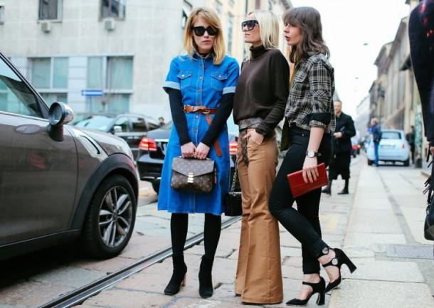 mfw street day4 32 610x433 Najnovšie street style trendy