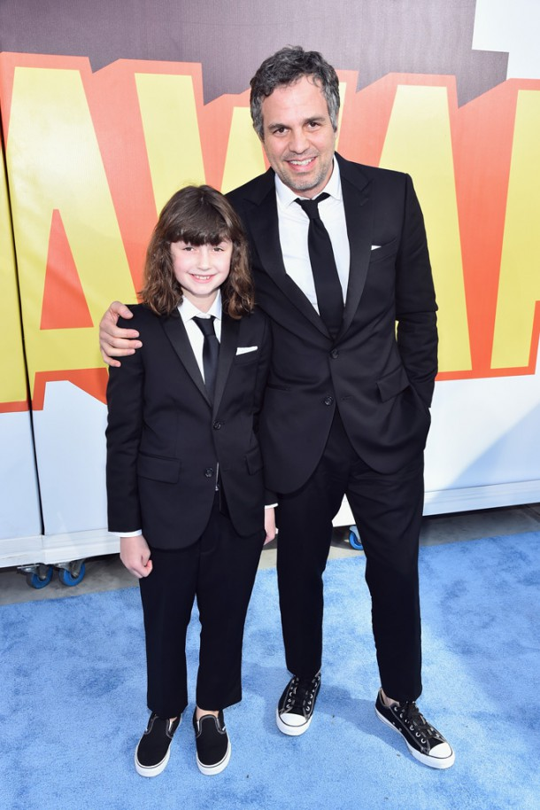 mark bella ruffalo 610x914 Hviezdy na MTV Movie Awards