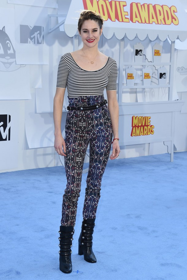 shailene woodley 610x914 Hviezdy na MTV Movie Awards