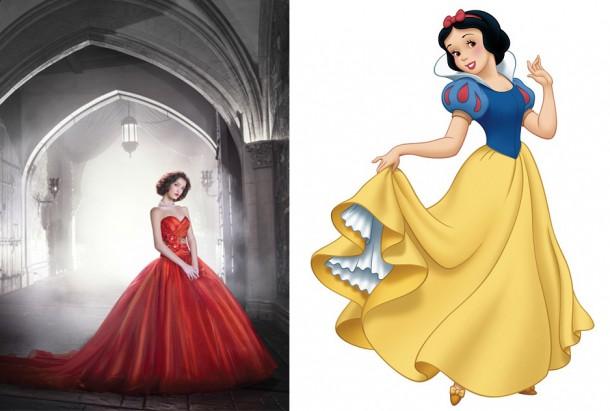 250 SnowWhite 450x633 610x411 Svadobné šaty podľa Disney rozprávok