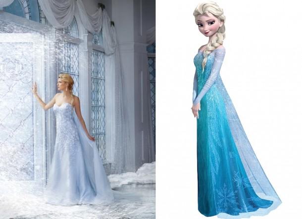 251 elsa image 450x633 610x442 Svadobné šaty podľa Disney rozprávok
