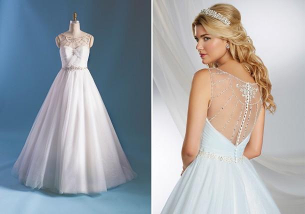 cinderella244 form f 450x633 610x428 Svadobné šaty podľa Disney rozprávok