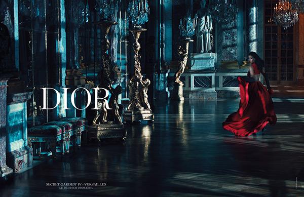 rihanna dior secret garden campaign 1 Rihanna je novou tvárou značky Dior