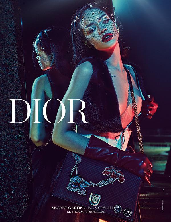 rihanna dior secret garden campaign 6 Rihanna je novou tvárou značky Dior