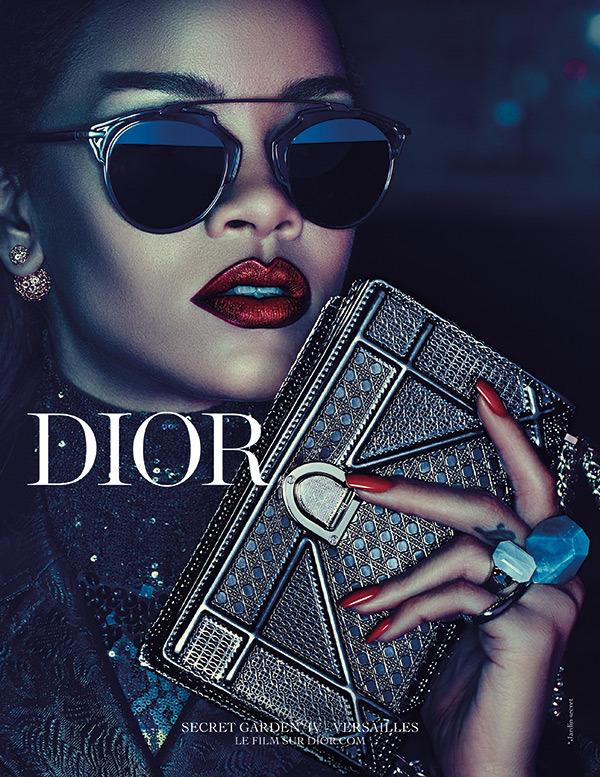 rihanna dior secret garden campaign 7 Rihanna je novou tvárou značky Dior