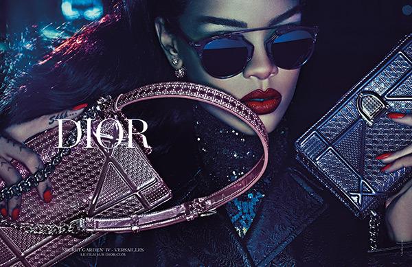 rihanna dior secret garden campaign 9 Rihanna je novou tvárou značky Dior