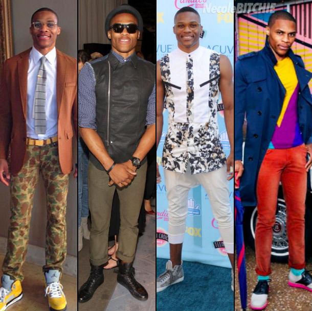 Russell Westbrook NBA Style Najštýlovejší muži podľa GQ