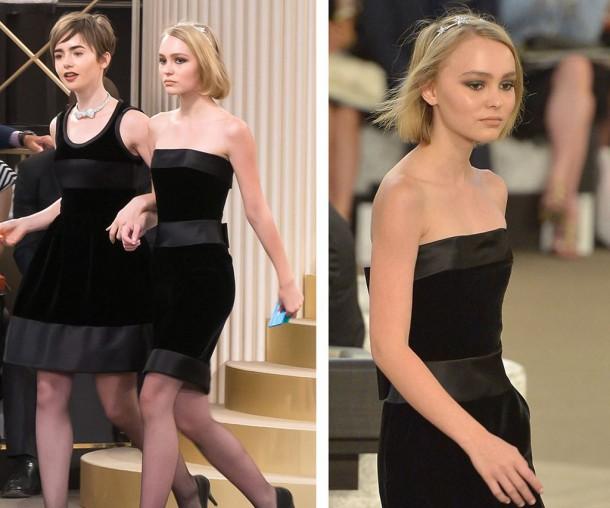 1436328711052 Lily Depp 2 610x508 Lily Rose Depp je novou tvárou značky Chanel