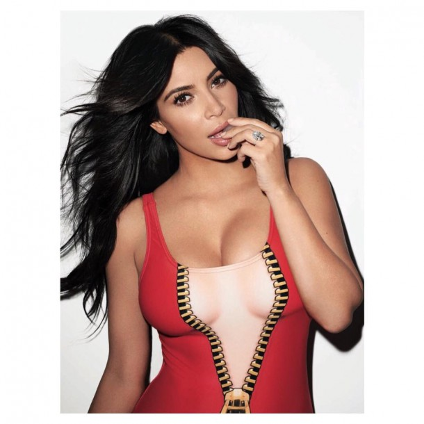 Kim Kardashian in Rolling Stones 610x610 TOP FASHION NEWS #1