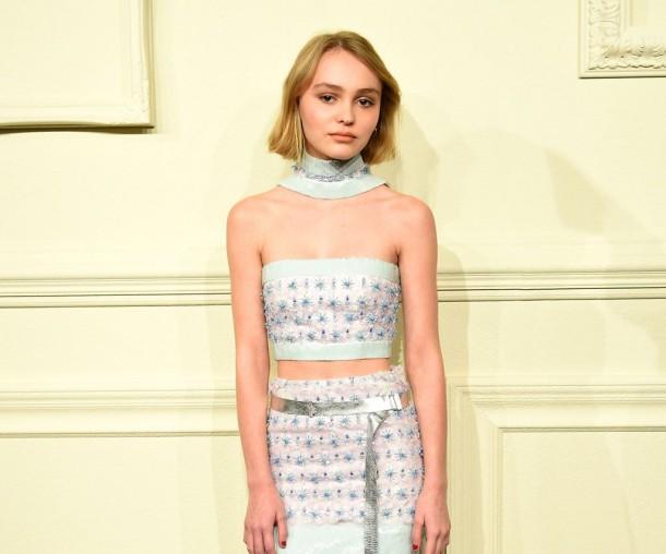 LilyRoseDepp 610x508 Lily Rose Depp je novou tvárou značky Chanel