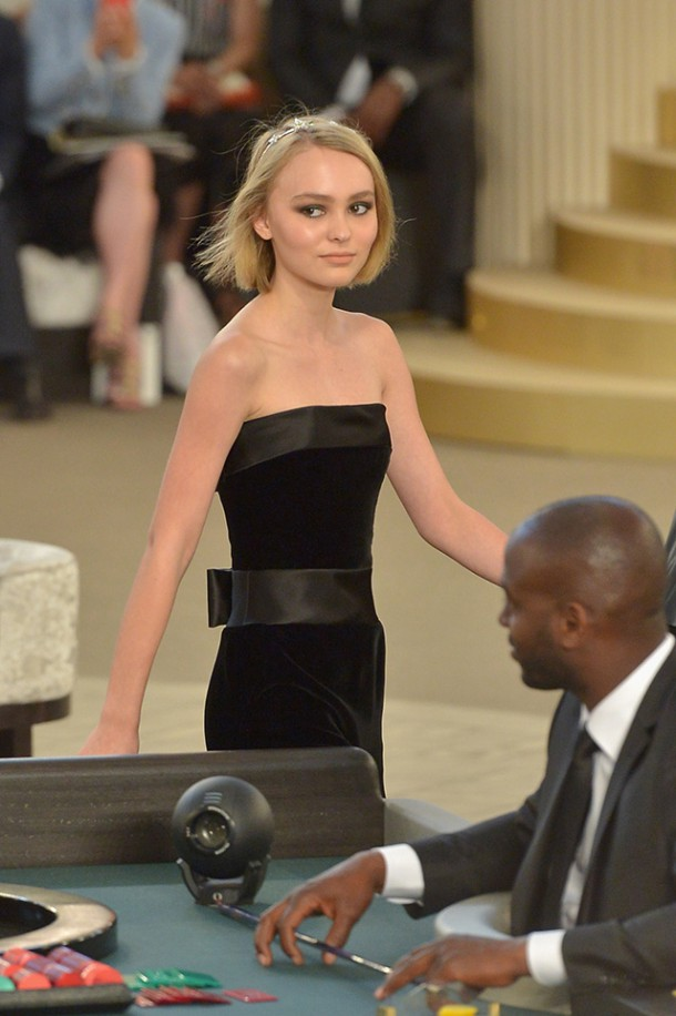 lily rose depp 84 610x916 Chanel Haute Couture 2015