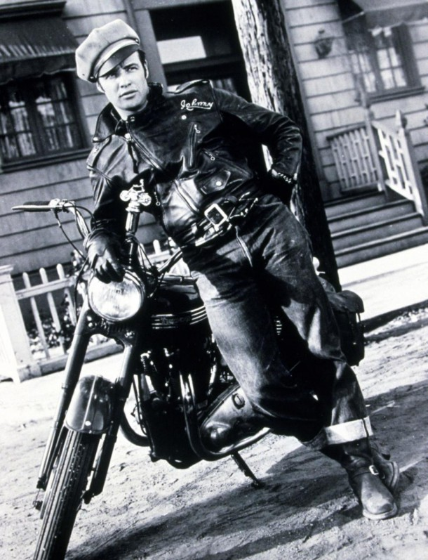 marlonbrando xlarge 610x797 Kožená motorkárska bunda: investícia, ktorá nestarne