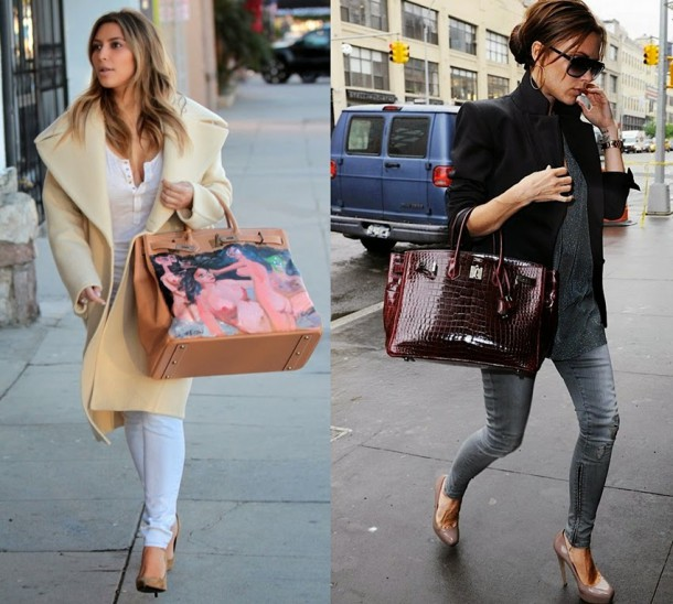 celebrities 2Bhermes 2Bbirkin 2Bbags 610x548 FASHION NEWS: kauza Hermès
