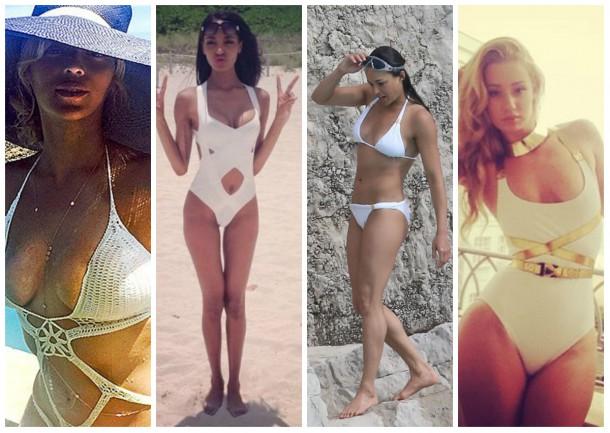 collage1 610x433 Ako si vybrať plavky: celebritné tipy