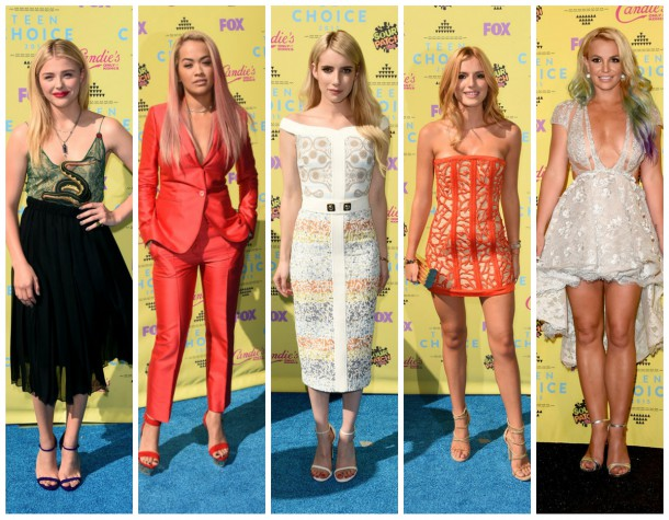 collage12 610x475 NAJ outfity z Teen Choice Awards 2015