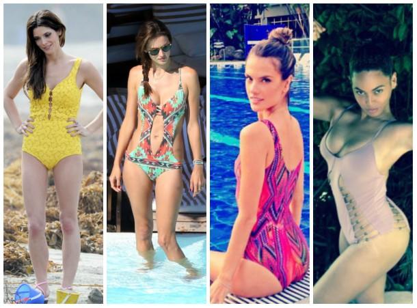 collage5 610x451 Ako si vybrať plavky: celebritné tipy