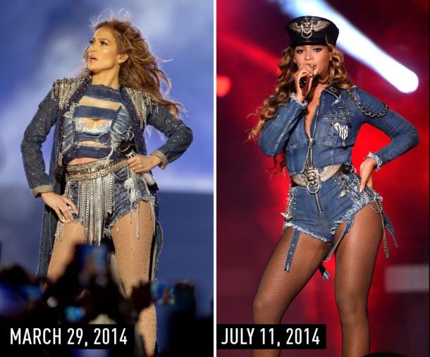 1435669997 syn hbz 1435615858 denim 610x506 Hviezdne vojny: Jennifer Lopez vs. Beyoncé
