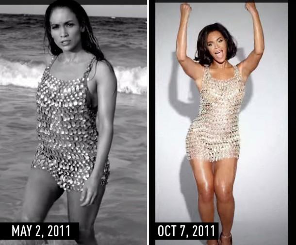 1435670011 syn hbz 1435604007 crystaldress 610x506 Hviezdne vojny: Jennifer Lopez vs. Beyoncé