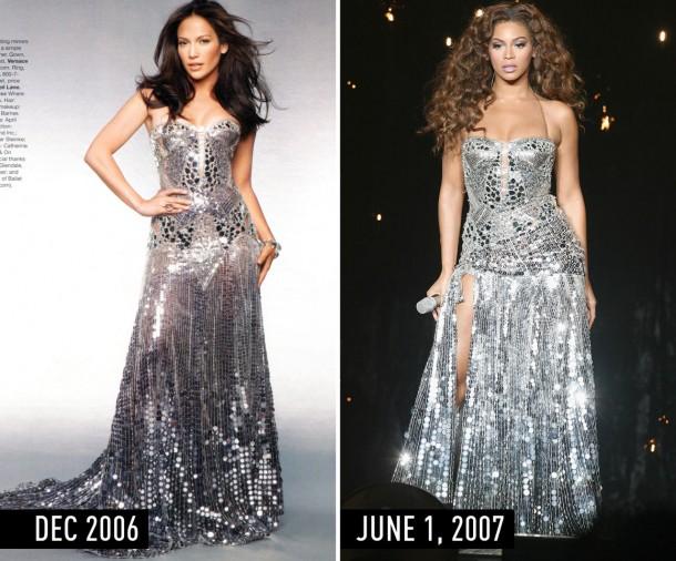 1435670021 syn hbz 1435355438 silverdress 610x506 Hviezdne vojny: Jennifer Lopez vs. Beyoncé