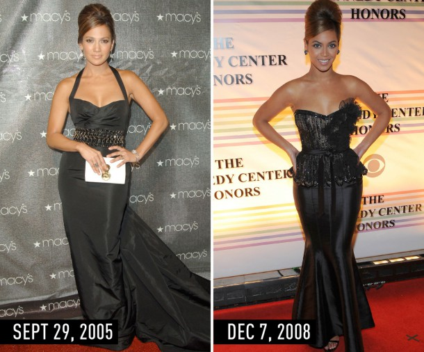 1435670027 syn hbz 1435355378 blackgown 610x506 Hviezdne vojny: Jennifer Lopez vs. Beyoncé