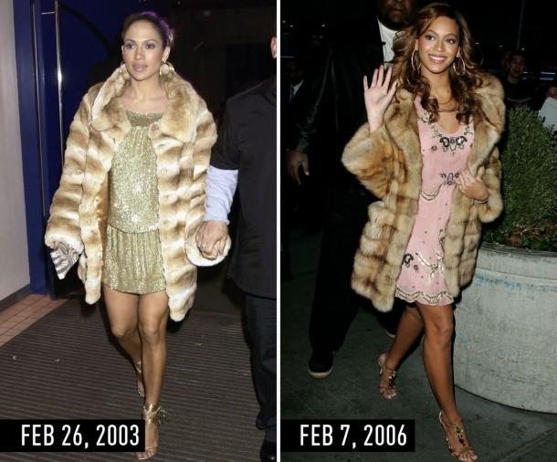 1435670033 syn hbz 1435601481 furcoat 610x506 Hviezdne vojny: Jennifer Lopez vs. Beyoncé