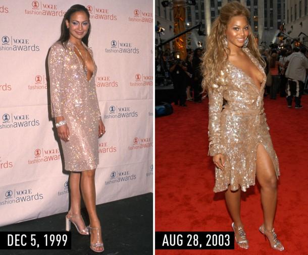 1435670065 syn hbz 1435602002 sparkleshirtdress 610x506 Hviezdne vojny: Jennifer Lopez vs. Beyoncé